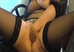 Blondie milf fist nailed in her insatiable vagina