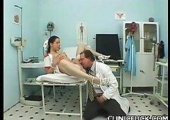 Pretty Nurse Rides Hard Tool