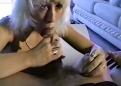 Cute & hot blondie lady on the audition gives head
